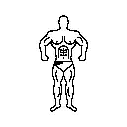 スーパー筋肉マン概要無料アイコン