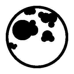 月の無料アイコン