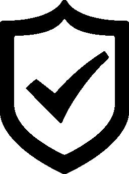 検証済みセキュリティ無料アイコン