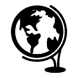 グローブ ツール スタンド無料アイコン