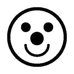 道化師の絵文字バリアント無料アイコン