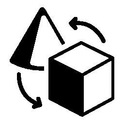 オブジェクト交換無料のアイコン