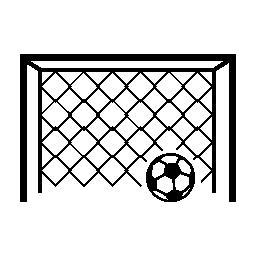 目標ボール無料アイコン