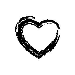 心のスケッチの無料アイコン