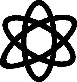 無料ベクトルのアイコンの最大のデータベースAtom 無料アイコン