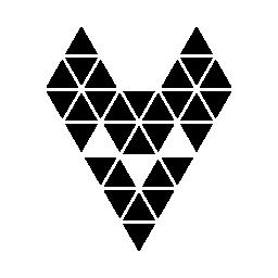 多角形のラット顔無料アイコン