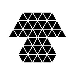 多角形のテーブル ランプ無料アイコン