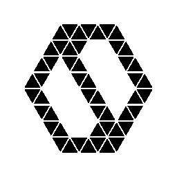 多角形ストレート yin ヤン記号無料アイコン