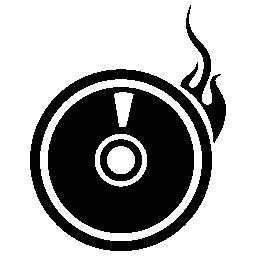 CD 書き込みアプリケーション無料アイコン
