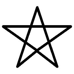 ペンタグラム シンボル概要無料アイコン