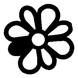 Icq 花ロゴ無料アイコン