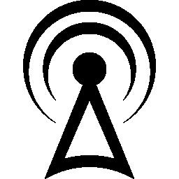 信号タワー無料アイコン