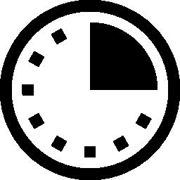 クロック タイム コントロール ツール無料アイコン
