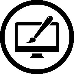 Web サイトのデザイン無料のアイコン