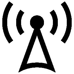 タワーの信号インタ フェース シンボル無料アイコン