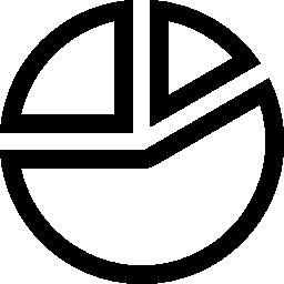円グラフの概要ビジネス無料アイコン