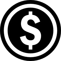 無料アイコンのドルの硬貨