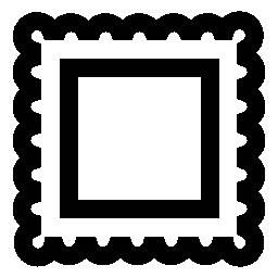 フレーム写真無料のアイコンの境界線