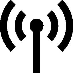 アンテナの信号伝送の無料アイコン