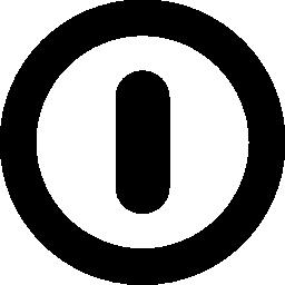 無料アイコンの電源シンボル