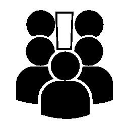 ユーザーが会議の人々 無料アイコン