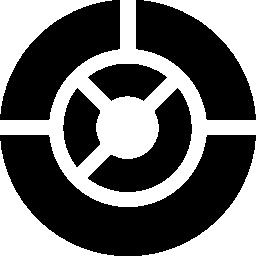 ビジネスの円形の円グラフの無料のアイコン