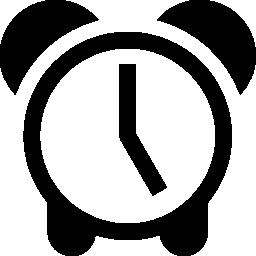 インターフェイスの無料アイコンのビンテージ デザイン警報シンボルの時計