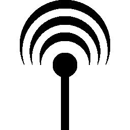 アンテナ信号無料アイコン