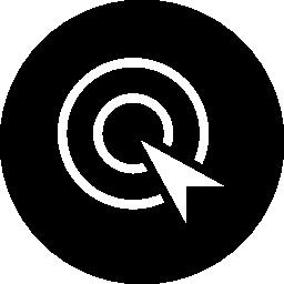 最適化インタ フェース シンボルの無料アイコンのクリックごとに支払う