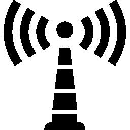 タワー信号シンボル無料アイコン