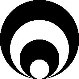 円グラフの無料アイコン