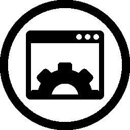 ウェブサイト最適化シンボル無料アイコン