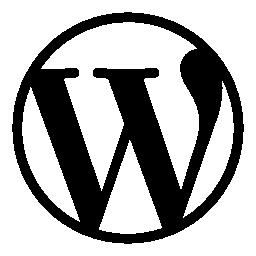 無料のワードプレスのロゴのアイコン
