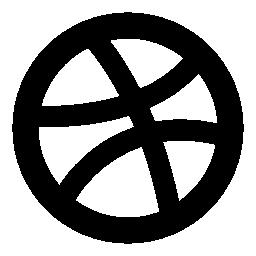 Dribbble 無料のロゴのアイコン