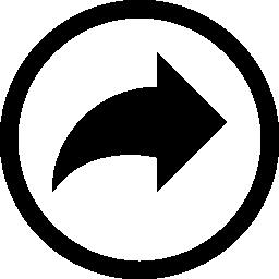 サークル無料アイコンに矢印をやり直す