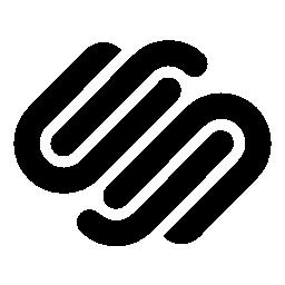 スクエア無料のロゴのアイコン