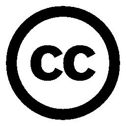 クリエイティブ ・ コモンズ ライセンス シンボル無料アイコン