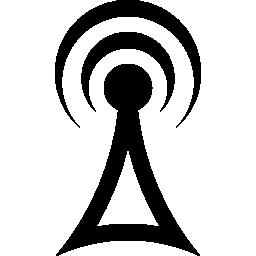 信号タワー シンボル無料アイコン
