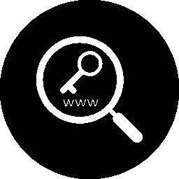 キーワード研究シンボル無料アイコン