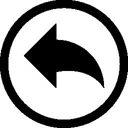 サークル無料アイコンに矢印を元に戻す