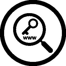 キーワード研究インタ フェース シンボル無料アイコン