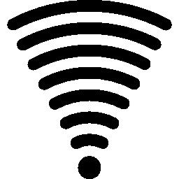 完全な強さ接続無料アイコンの Wifi 信号