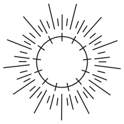 太陽エネルギーの自然なソース無料アイコン