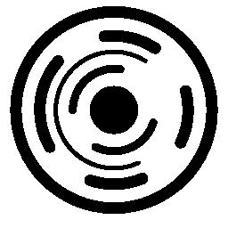 電子回路円無料アイコン