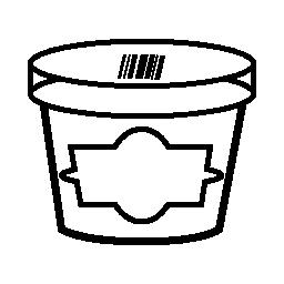 ペストリーのボックスの無料のアイコン