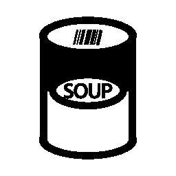 スープはアイコンを無料することができます。
