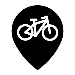 自転車ゾーン信号無料アイコン
