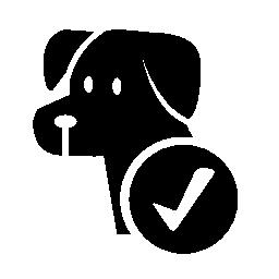 犬ペット許可ホテル信号無料アイコン