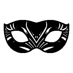 カーニバル マスクの目をカバーする無料のアイコン