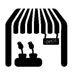 花ショップ無料アイコン